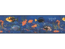 Sea World Wallpaper Border WT1035