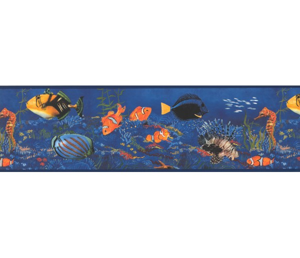 Sea World Borders Sea World Wallpaper Border WT1035 York Wallcoverings