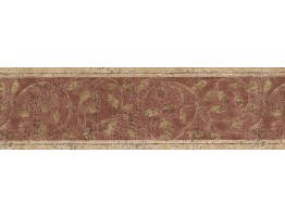 Prepasted Wallpaper Borders - NORWALL ZEN LEAVES Wall Paper Border