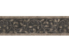 Prepasted Wallpaper Borders - Floral Wall Paper Border 76179ZN