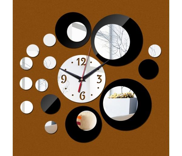 Wall Clocks 3D Acrylic Wall Clock With Mirror