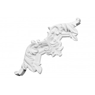Ceiling and Wall Relief - WR-9132A Flat Molding Corner