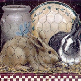 Rabbits Wallpaper Borders