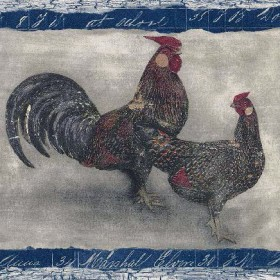 Roosters Wallpaper Borders