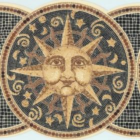 Sun Moon Stars Wall Borders